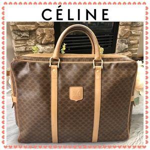 Authentic Celine Macadam Briefcase